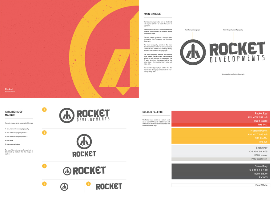 Rocket Development - Brand Guides Preview